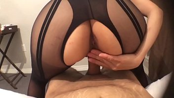 Sexy designer lingerie - Hot pov sex with sexy latina in lingerie makes me cum inside her