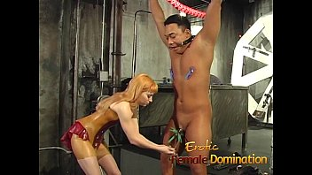 Kinky stud enjoys getting spanked hard by two lusty bombshells