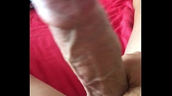 Morning playing with my 21cm dick.