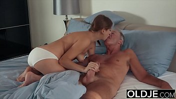 Holly fuck grandpa puts his cock inside young pussy