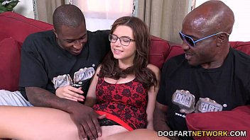 Marina Visconti Gets To Take Two Black Cocks