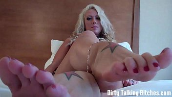 Jerk that dick all over my feet JOI