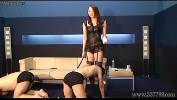 Asian strength symbol Japanese dominatrix risa punishment game