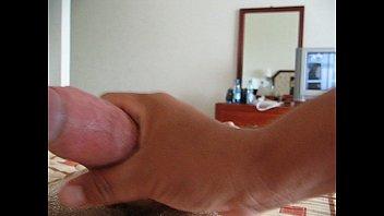 Hotel handjob - Latina handjob in hotel