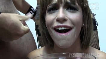 John does sperm service Premium bukkake - silvana swallows 65 huge mouthful cumshots