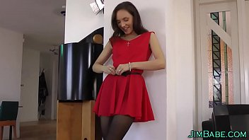 Brit amateur in pantyhose