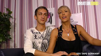 AMATEUR EURO - German Lana Vegas Fucks With Young Guy In First Sex Tape thumbnail
