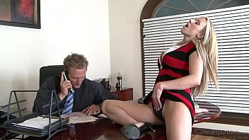 Secreteries fucking boss Carolyn reese fuckes her boss