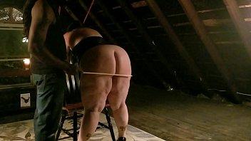 Spanking nice booty pawg