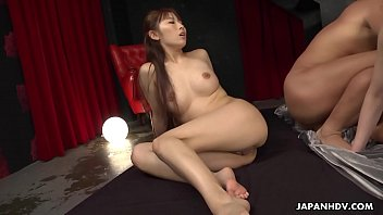 Japanese housewife, Maki Koizumi is orgying, uncensored