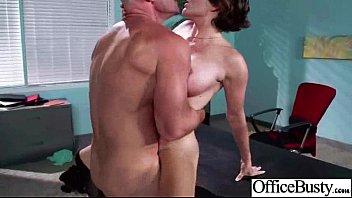 Hot Big Juggs Girl (krissy lynn) Hard Banged In Office clip-19