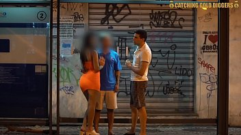 Brazilian Guy Lets A Stranger Fuck His Girlfriend With Him In A Double Penetration Threesome For Money thumbnail