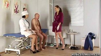NIMFA VIOLA - Medical Femdom threesome