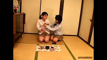 Schoolgirl Getting Her Tits Rubbed Pussy Licked And Fingered On The Floor In The