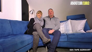 AMATEUR EURO - German Lady Debby Fucks In Her Very First Porn Tape thumbnail
