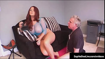 Big Titty Hottie Sophie Dee Gets Her Round Ass And Wet Pussy Worshiped