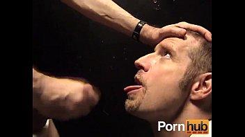 Gay Cumslut in dark room