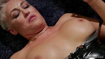 Black dominatrix ass worship Mistress whipping her lesbian sex toys