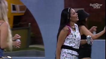 Big Brother Brazil 2020 - Flayslane causing party 23/01