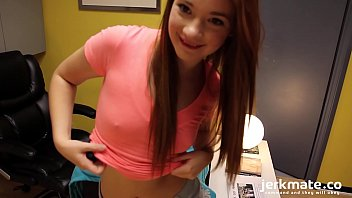 Petite Redhead Teen Plays With Her Clit On Jerkmate