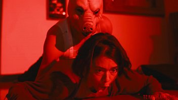 Big baby fetish Frightened babe dominated and banged by masked creep