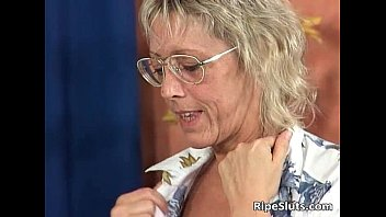 Mature pelose - Sexy blonde mature teacher is hot as she