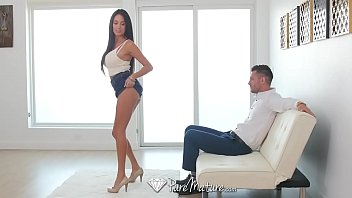 Fee mature creampie movies - Puremature busty milf anissa kate anal fucked by energetic young dick