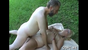 Old dog pussy - Chili dog loving action for frisky barely legal christy with big natural tits