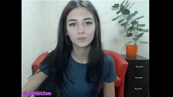 Cute teen undressed in front of cam (new)