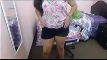 Thick Desi College girl Fingering at Home