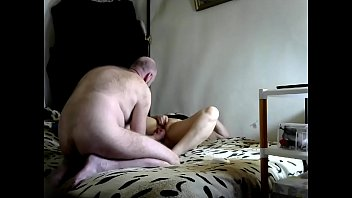 At the client's request  bearded Peter fucks his slut blonde wife Aimee with his fingers. Bitch gratefully cums...