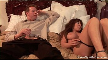 Redhead Babe Swinger Fucks Another Man