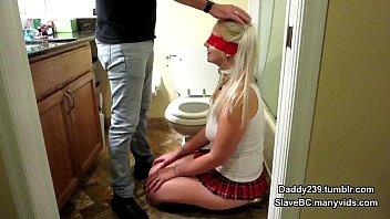 slavebc gets her face fucked hard