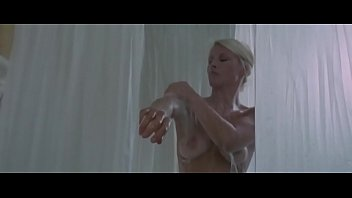 The Strange Vice of Mrs. Wardh: Sexy Nude Blonde Shower