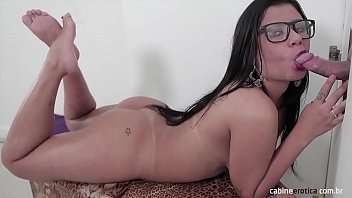 Amanda will suck hard on Gloryhole