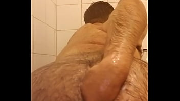 Self fist in shower