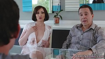 Spanish milf fucks young xxx Auntie To The Rescue