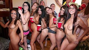 COLLEGE RULES - Dorm Room Orgy With A Bunch Of Naked & Horny Teens
