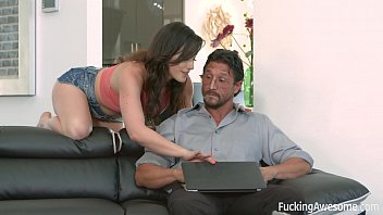 Jennifer White wants her step-dad's cock