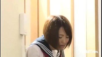 Japanese Schoolgirl can't stop cumming
