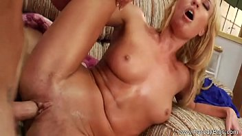 Blonde MILF Doing Her Thang
