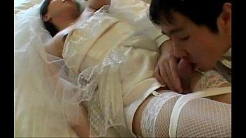 Japanese Tgirl Fucks bride
