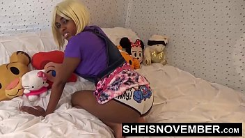 Hot Ebony Girl Young Blowjob