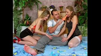Two Girls One Guy Czech 3some
