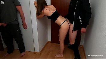 I Paid Pizzaboy With Anal Cuckold Sex - Husband Fucked Me Afterwards