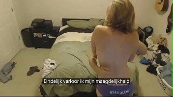Nederlandse slet geneukt door twee wanhopige jongens | geil sexy nederlands triootje