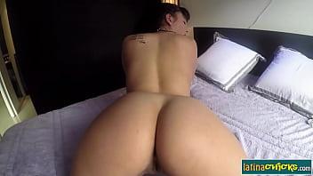 Big ass latina Claudia Bavel