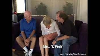 Blonde Swinger Slut Mrs. Wolf Abused