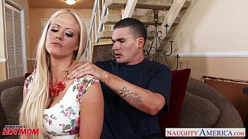 Very sexy mom Holly Heart gets big tits fucked video