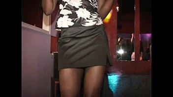 MILF Kate gets her cunt sucked on sex club dance floor